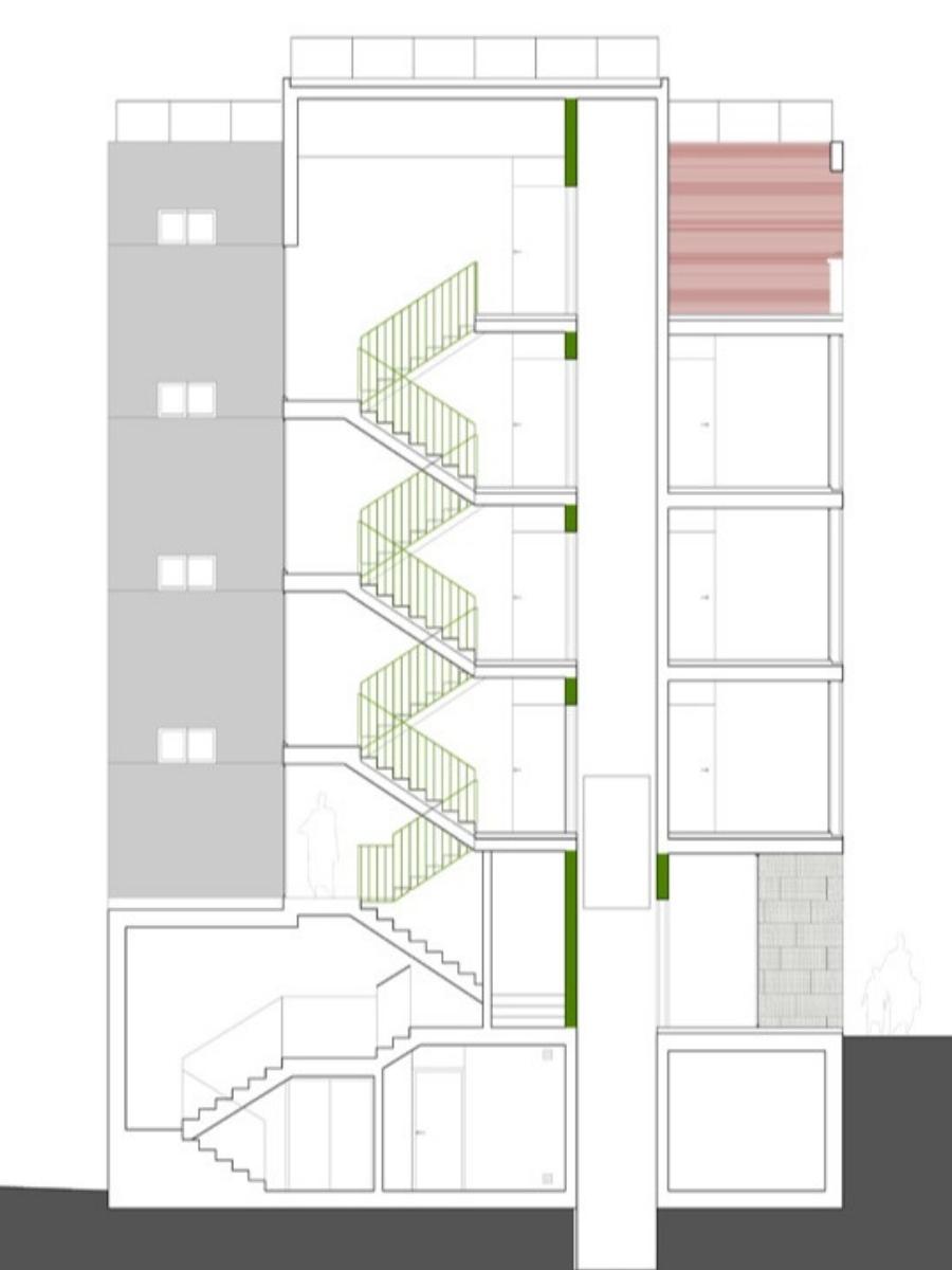 Ático en Paseo de la Dirección, situada en Madrid. Un proyecto del estudio de arquitectura FH2L Arquitectos