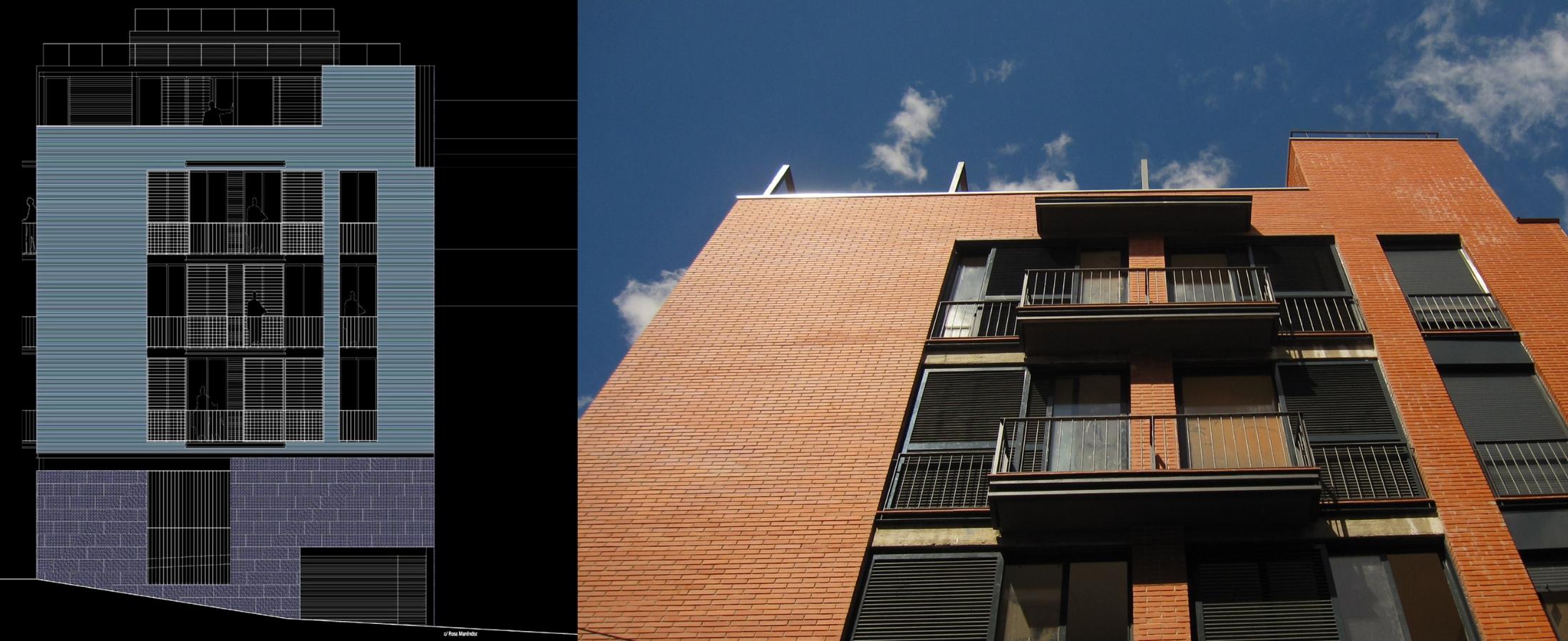 Paseo de la Dirección, situada en Madrid. Un proyecto del estudio de arquitectura FH2L Arquitectos