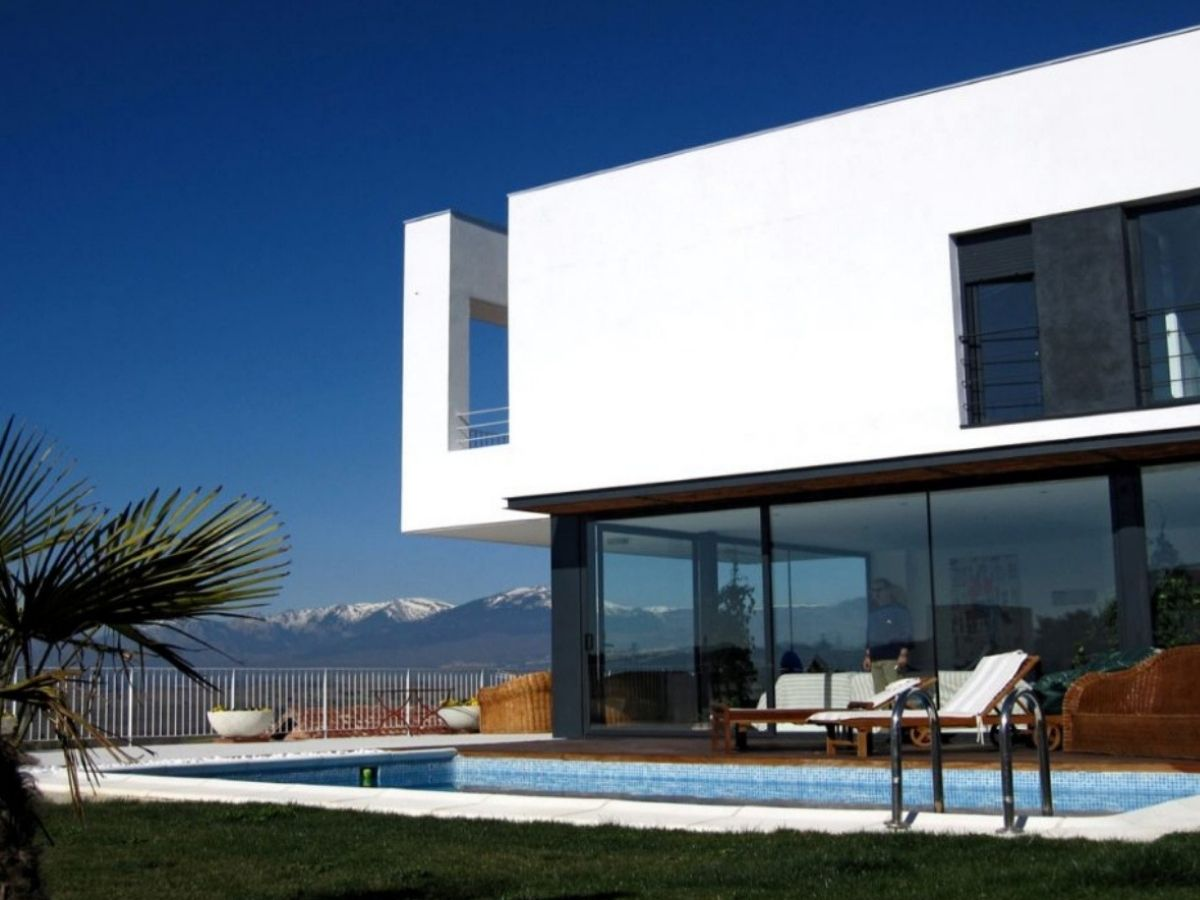 Fotografía de Casa Ramas, situada en Cotos de Monterrey (Madrid). Un proyecto del estudio de arquitectura FH2L Arquitectos