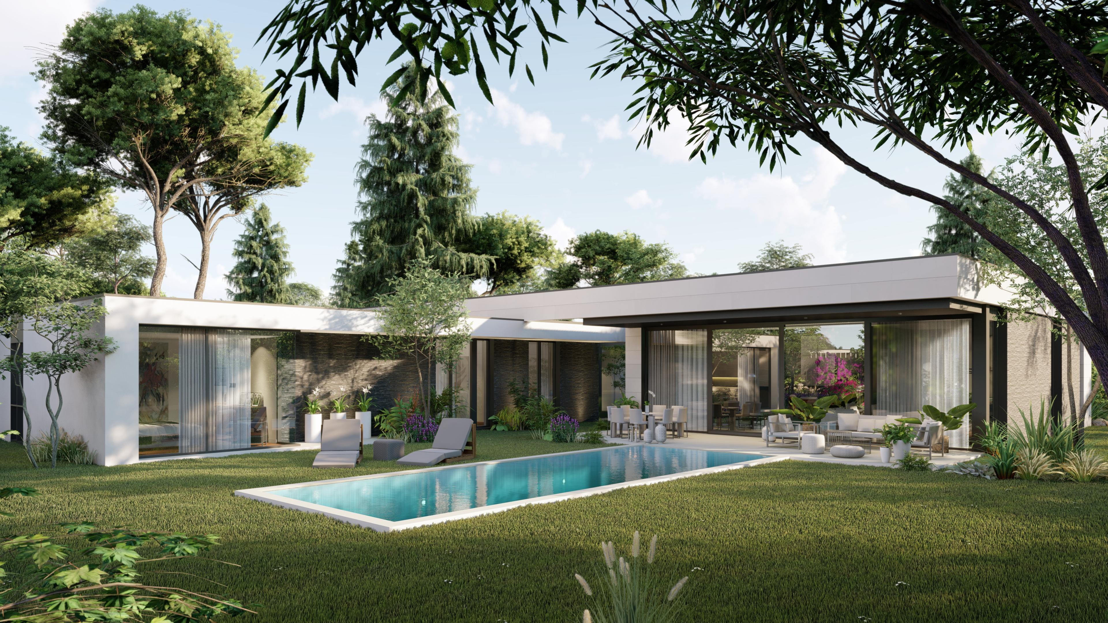 Vista exterior. QHOMES9 es un proyecto del estudio de arquitectura FH2L Arquitectos. Conformado por 9 viviendas unifamiliares .