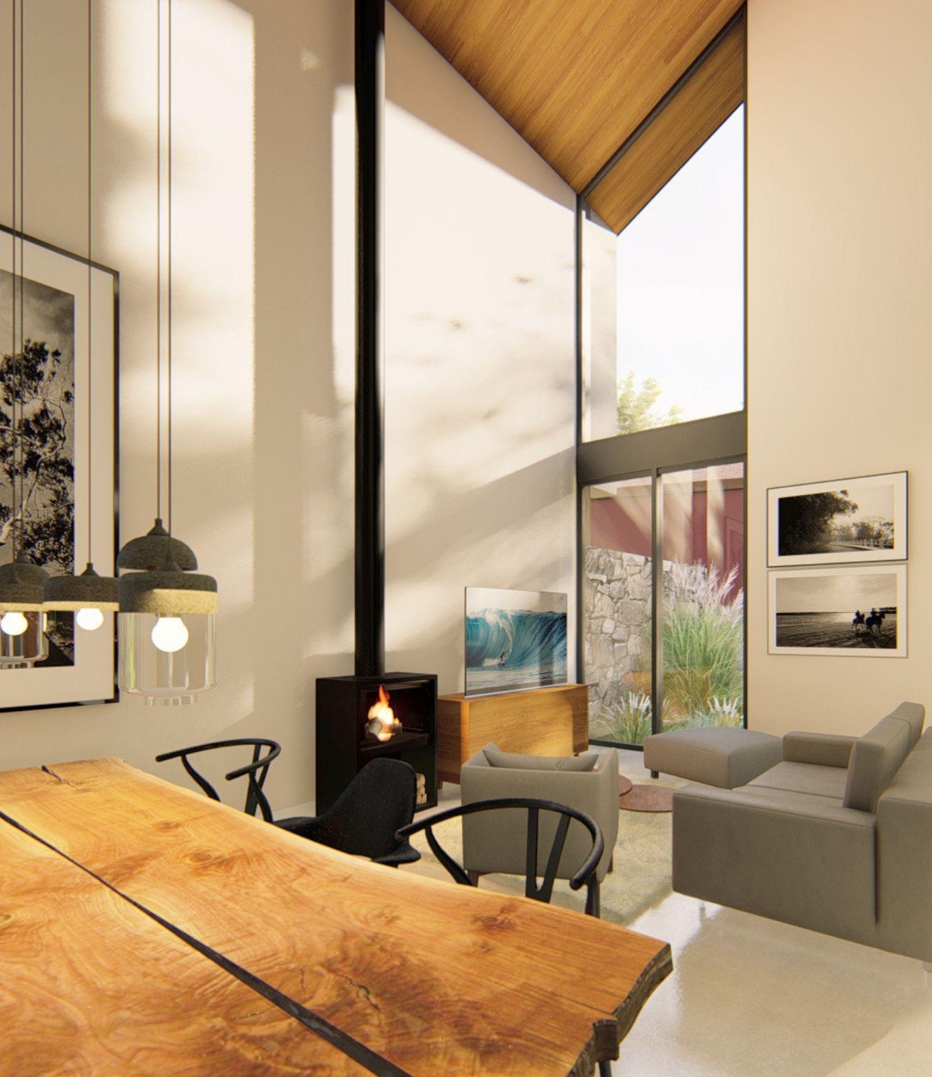 9 viviendas unifamiliares aisladas + rehabilitación de una vivienda unifamiliar. Un proyecto del estudio de arquitectura FH2L Arquitectos en Navacerrada, Madrid