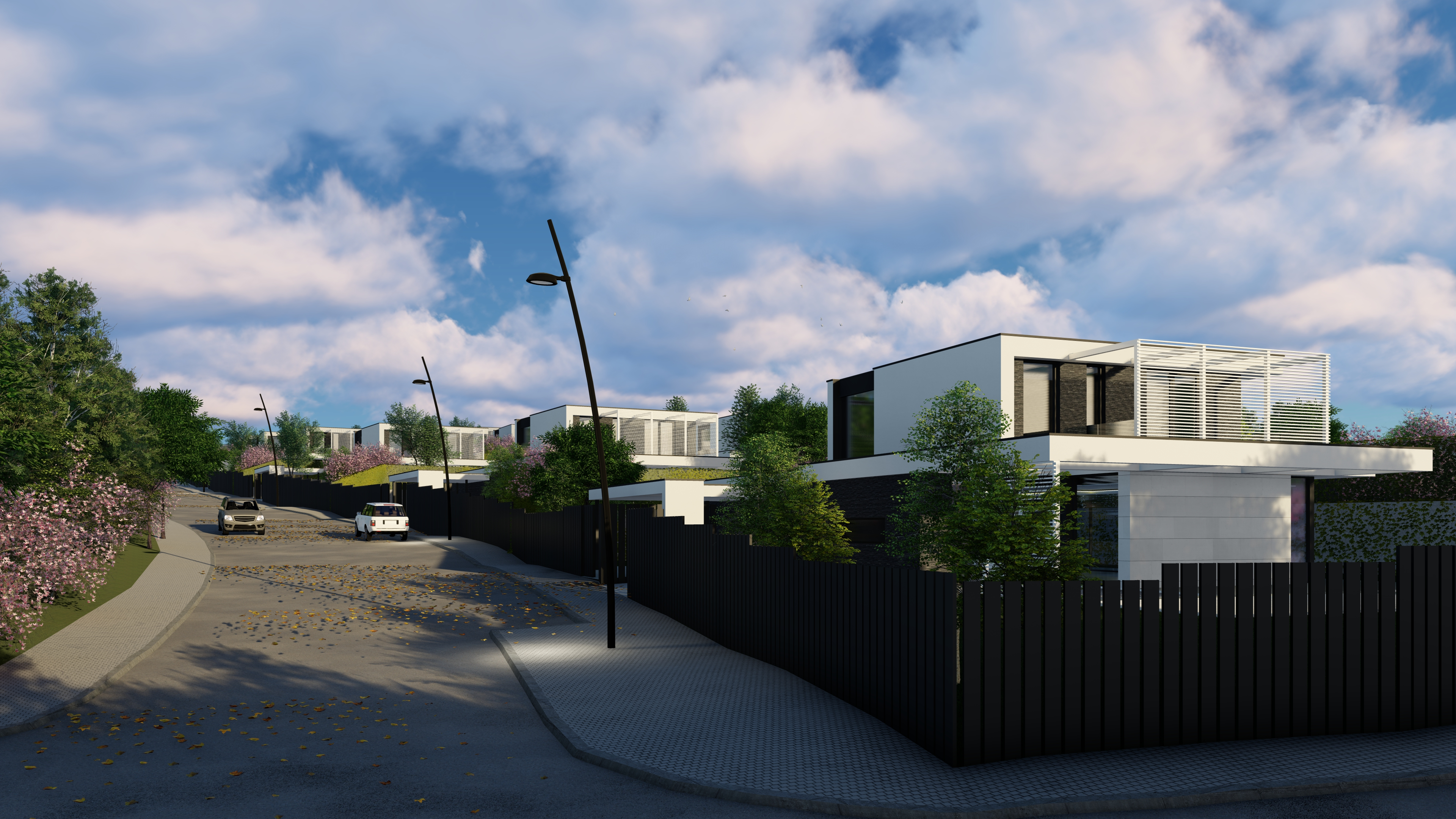 Proyecto de FH2L Arquitectos QHomes14 Satelites en Majadahonda, Madrid