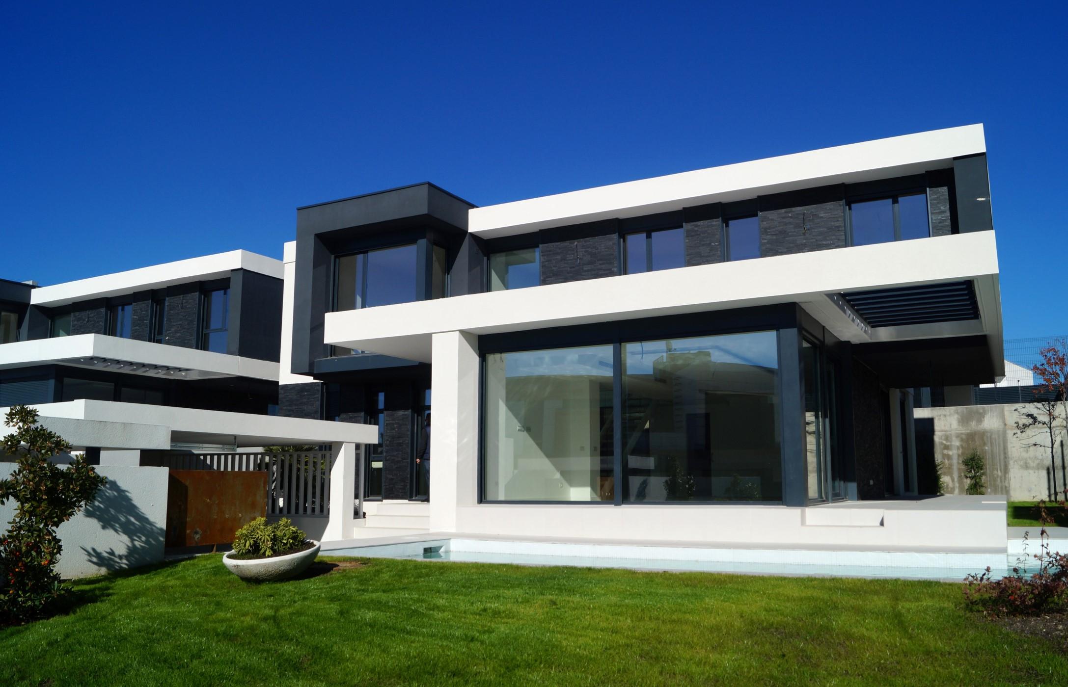 15 viviendas unifamiliares adosadas Boadilla del Monte, Madrid. Proyecto de FH2L Arquitectos.
