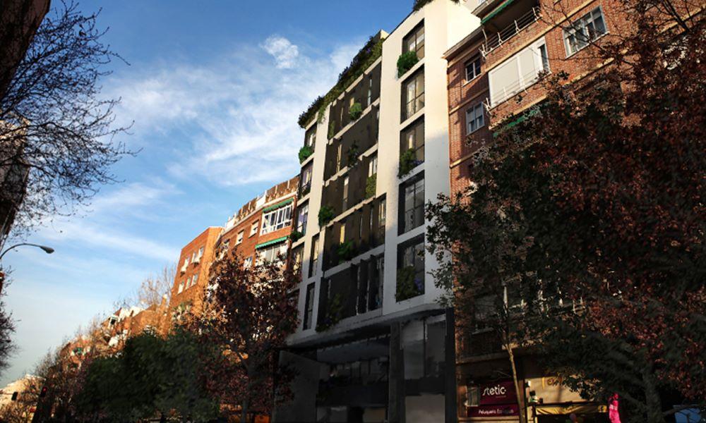 Edificio en López de Hoyos, situada en Madrid. Un proyecto del estudio de arquitectura FH2L Arquitectos