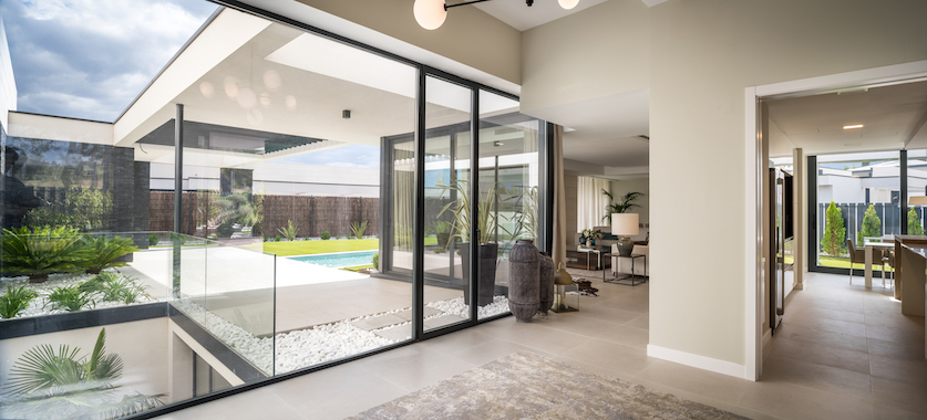 QHOMES12. 12 viviendas unifamiliares en Boadilla del Monte (Madrid) Un proyecto del estudio de arquitectura FH2L Arquitectos