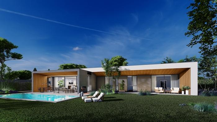21 viviendas unifamiliares + piscina en Boadilla del Monte (Madrid) Un proyecto del estudio de arquitectura FH2L Arquitectos