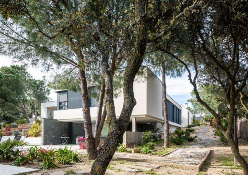 HAGE- Proyecto de Fh2l Arquitectos. Vivienda Unifamiliar, Boadilla del Monte, Madrid.